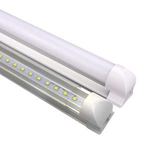 2020 New style outdoorT8/T5 led tube integration lighting 6500k T8 V Shape Led Tube Light for indoor lighting