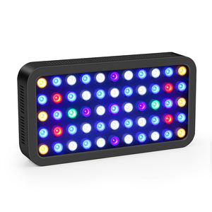 165W APP Controle Smart LED Aquarium Licht Black Box Marine Aquarium LED Verlichting