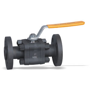 Forged steel floating ball valve API Valves with small size