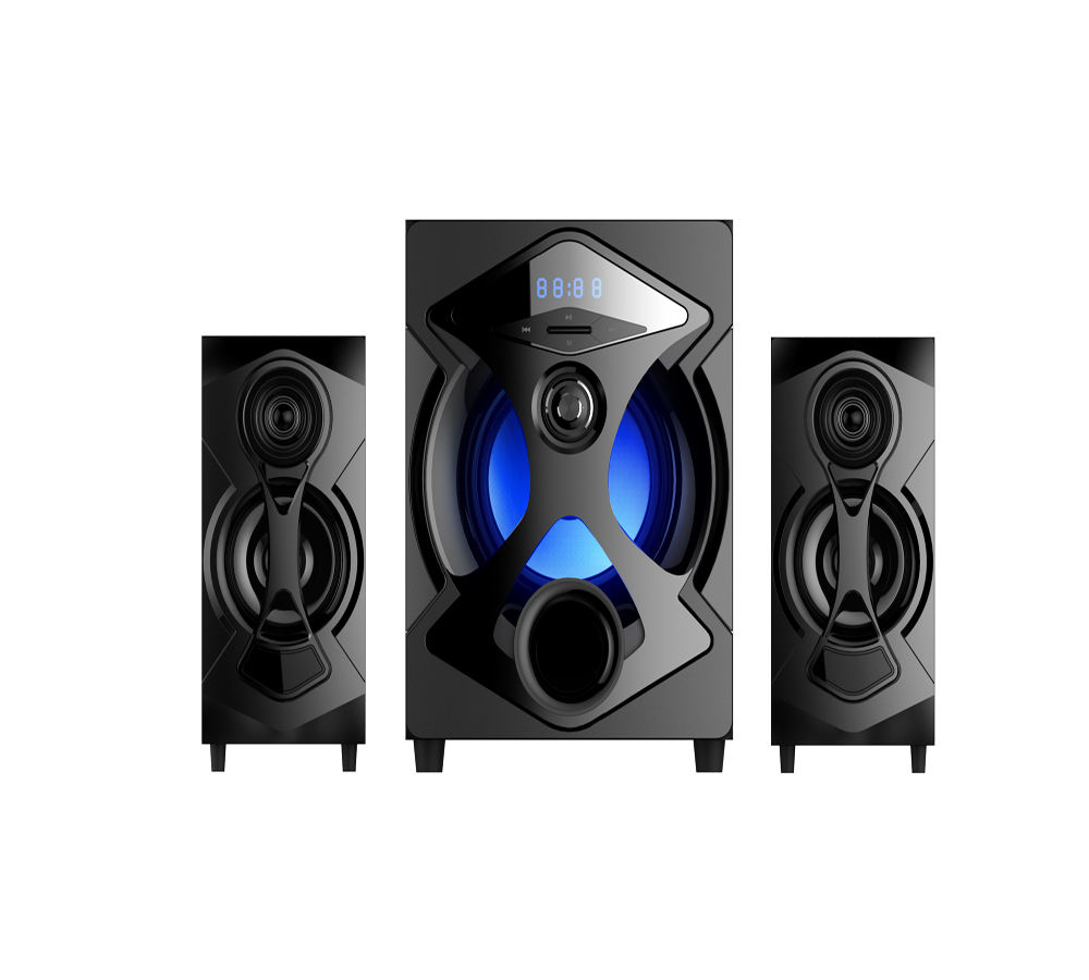 2.1-Profesional Suara Home Theater Speaker System-A201 (5.25