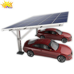 Carbon steel carport solar panel carport mounting system photovoltaic solar carport