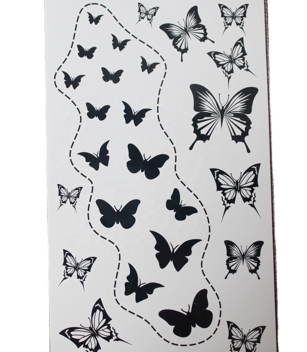 Grossiste Tatouage Papillon Noir Acheter Les Meilleurs Tatouage Papillon Noir Lots De La Chine Tatouage Papillon Noir Grossistes En Ligne Alibaba Com