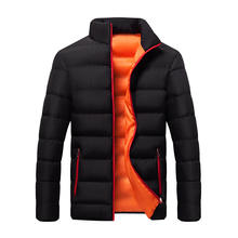 2020 fashion large size  long sleeve cotton  winter jacket man coats men's jackets coats