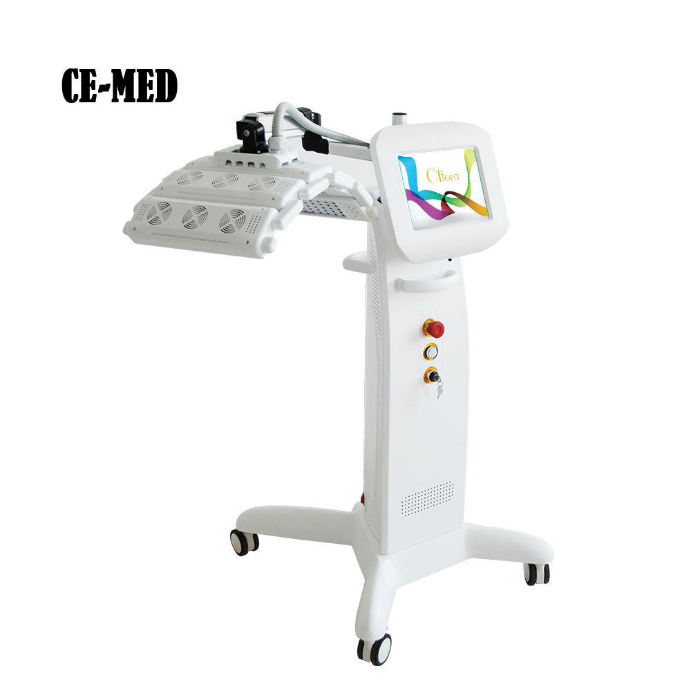 Medical CE Photodynamic Therapy PDT LED Light machine for Acne Skin Rejuvenation