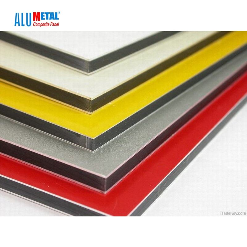 China supplier 2mm acm plate aluminum composite panel