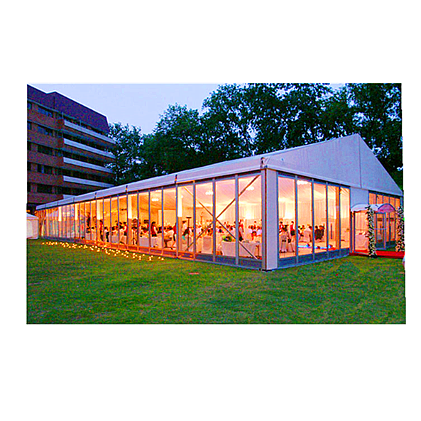 1000 People Outdoor Aluminum Clear Party Tent For Events