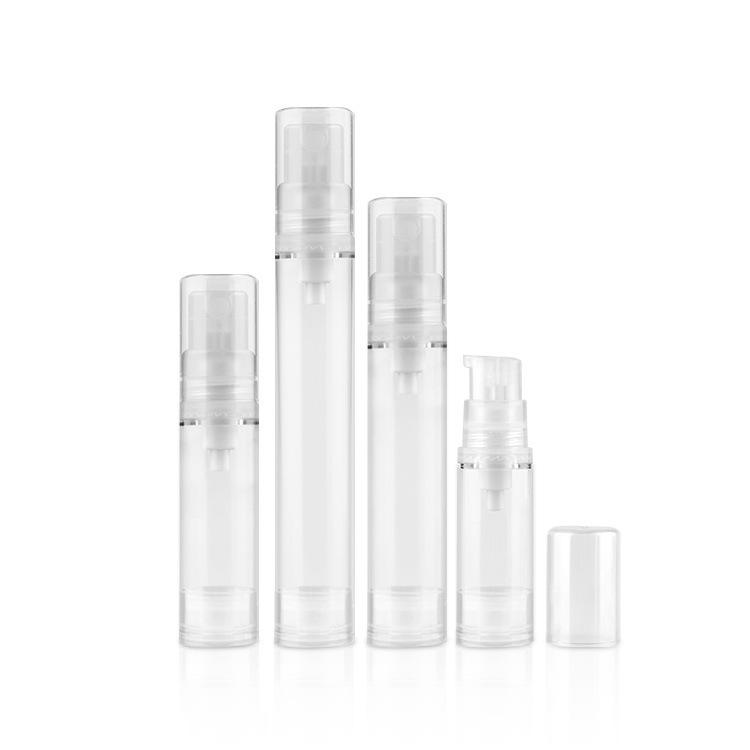 10ml15ml5ml airless AS transparent perfume bottle spray bottle cans 12ml emulsion pot