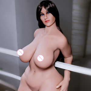 Hot Selling Japanese Full Metal Skeleton 157cm big boobs and ass silicone sex doll Adult fat sex doll big ass
