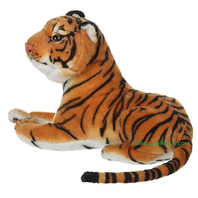 1m real life realistic big tiger plush toy