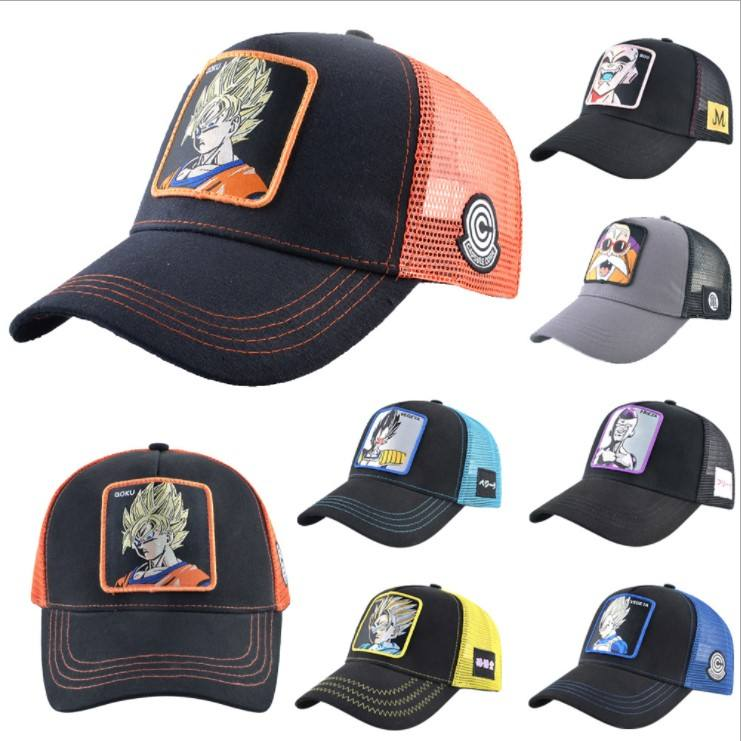 Hot Stijl Cartoon Figuur Golf Caps Karakter Sunny <span class=keywords><strong>Baseball</strong></span> Cap Truck Sticker Mesh Hoed Voor Jongens