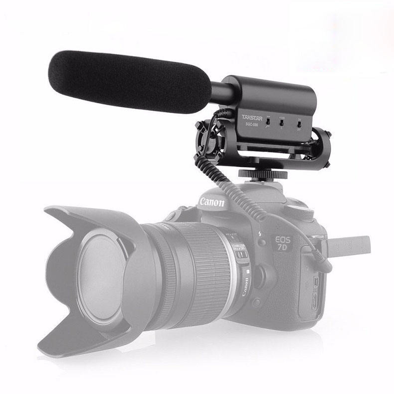 Hot selling Takstar SGC-598 MIC video camera wireless microphone