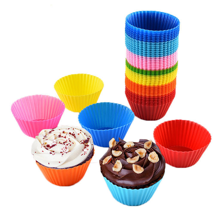 Non-Stick Cake Molds Silicone Cake Mold Baking Tools Set Baking Cups