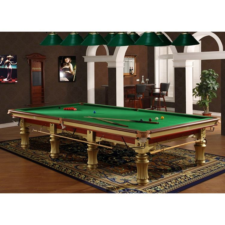 Manufacturer Supplier Standard Billiard Table 12ft Snooker Pool Table