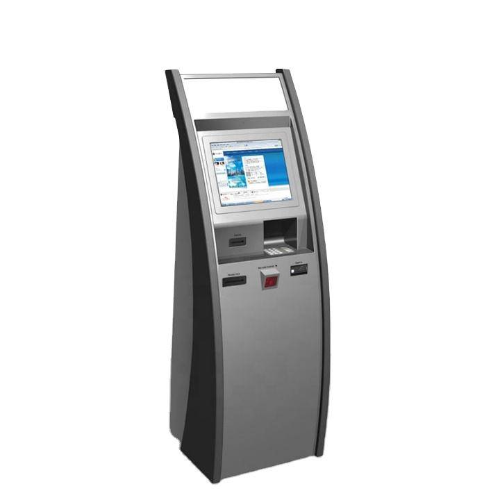 Self Parking Card Top Up Payment Machine Kiosk With Touch Screen