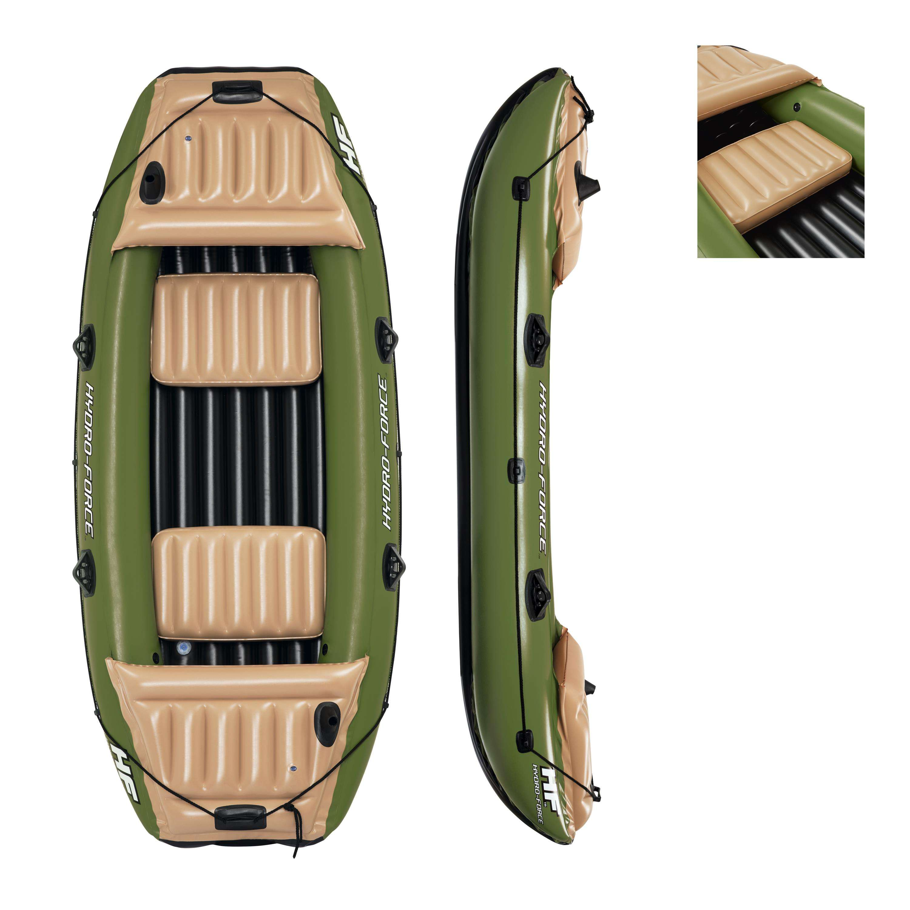 Bestway 65008 Neva III Inflatable Raft inflatable fishing boat for water sports for 3 person 3.16m x 1.24m