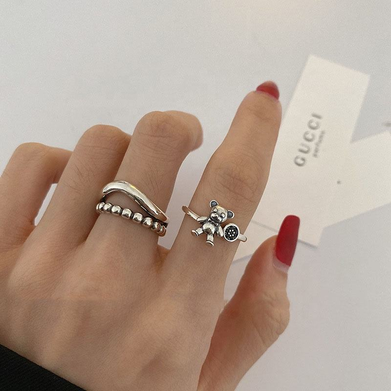 2020 New 10pcs/set Vintage Silver Arrow Moon Finger Knuckle Rings Jewelry Gift Silver Color Ring Set Party Wedding