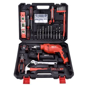 Mpt Power Tools 57 Pcs 13 Mm Klopboormachine 550 W Power Handboor Kit Elektrische Schroevendraaier