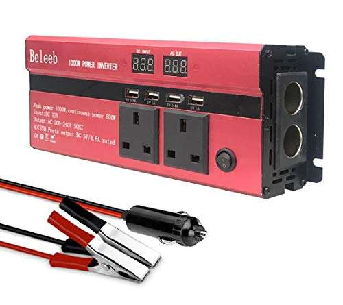 Soft start power inverter DC 12v zu AC 110v 220v 230v 240v 2000watt