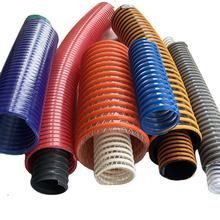 Wholesale price spiral corrugated water pump 2\3\4\6\8 inch flexible plastic suction discharge hose pvc suction hose pipe