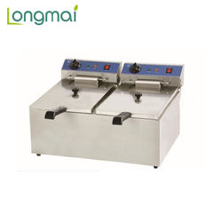 Commercial freestanding 2 tank electric open fryer /KFC deep fryer machine