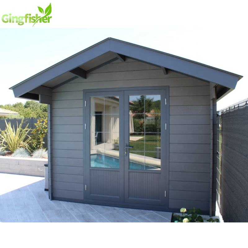 Easy to assemble Sheds Storage Outdoor Prefab House Plastic Composite
