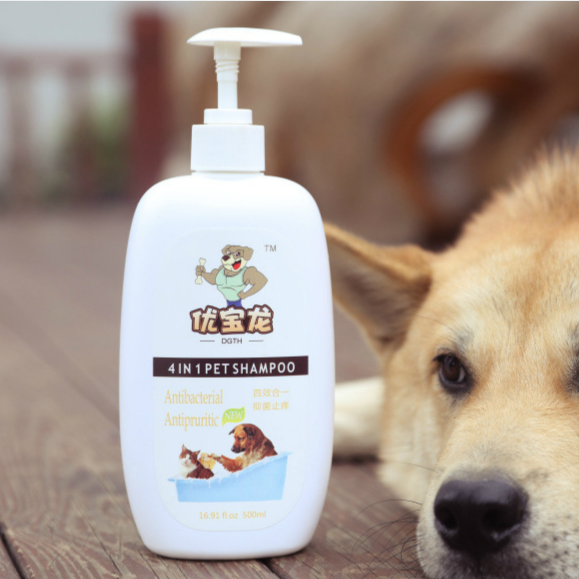 Private Label Organic Bathing Grooming Natural Universal Dog Shampoo Bottle Conditioner Pet Shampoo Prevent Flea and Tick
