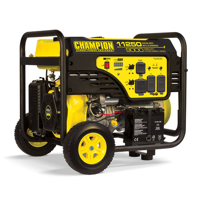 Champion 9000w wholesale electric power backup industrial portable gasoline generator
