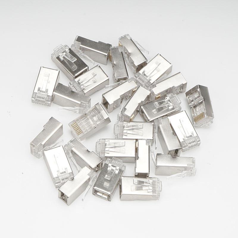 Ethercon Wasserdichte 8P8C Kristall Cat5e Kabel RJ45 Geschirmt Stecker Modulare Metall <span class=keywords><strong>Cat6</strong></span> <span class=keywords><strong>ftp</strong></span> rj45 Stecker