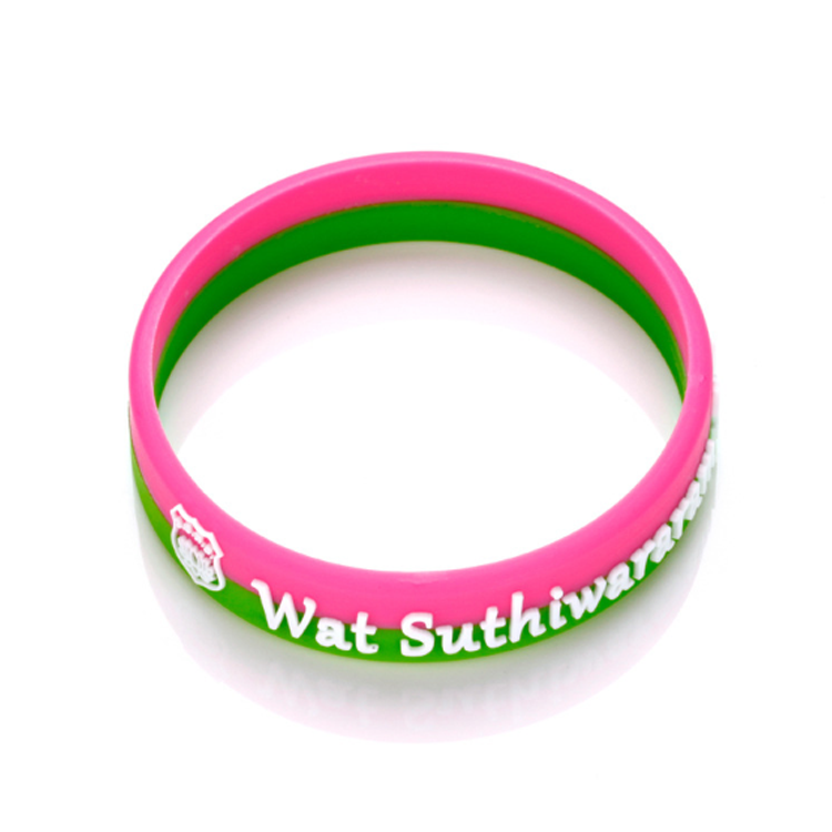 Cheap rubber custom free sample silicone wristband