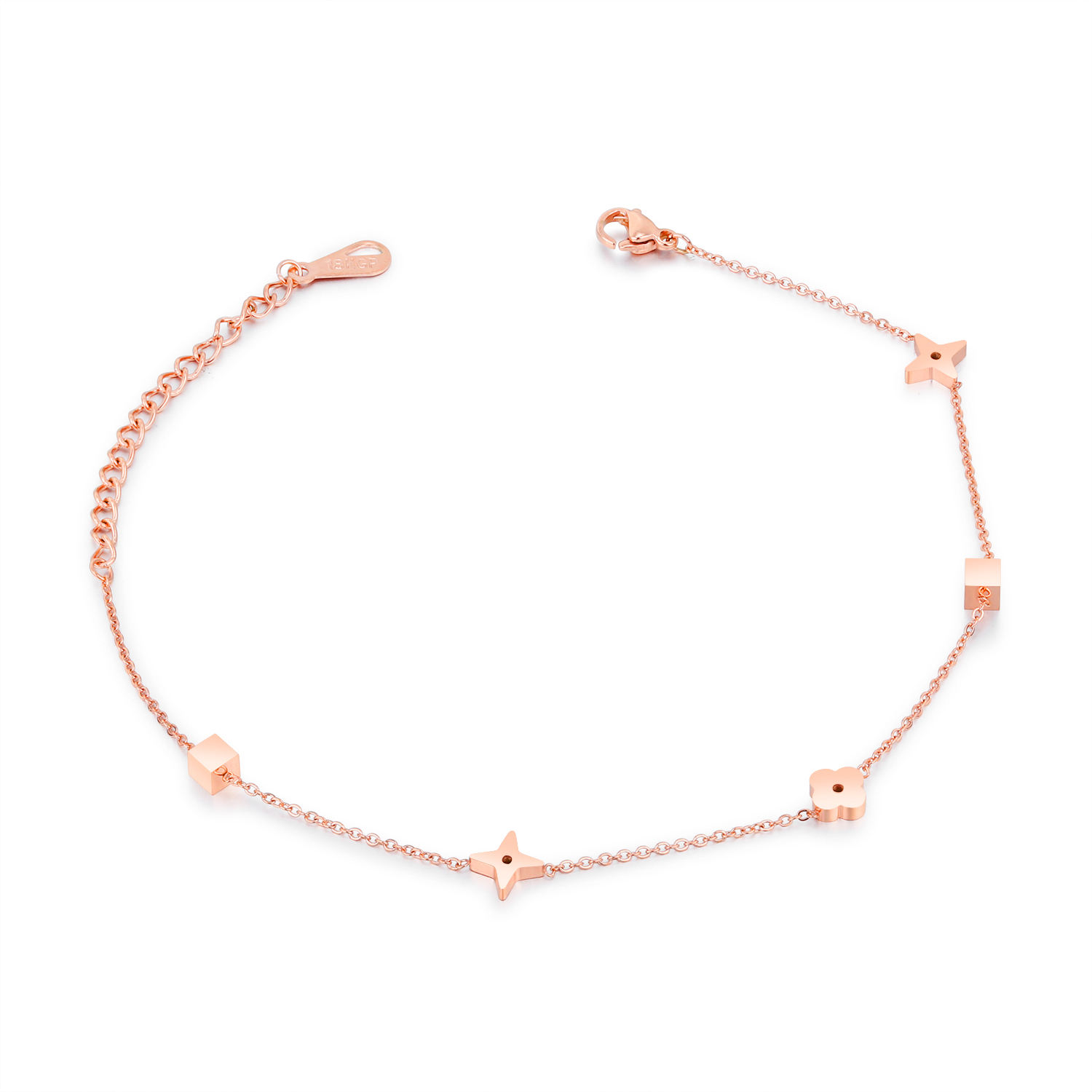 Wholesale fashion gold plated jewelry ankle bracelet for women GZ042