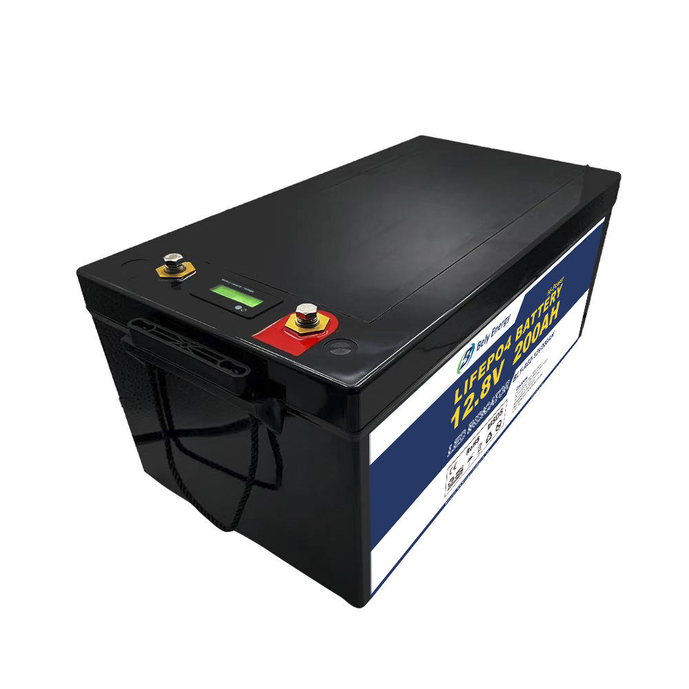 LED Power Display Lithium Deep Cycle Battery 12V LiFePO4 Battery Pack 150Ah 200Ah 300Ah LiFePO4 12V 200Ah