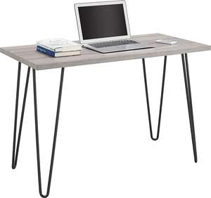 Home office furniture general used sample computer desk with rebar steel laptop table