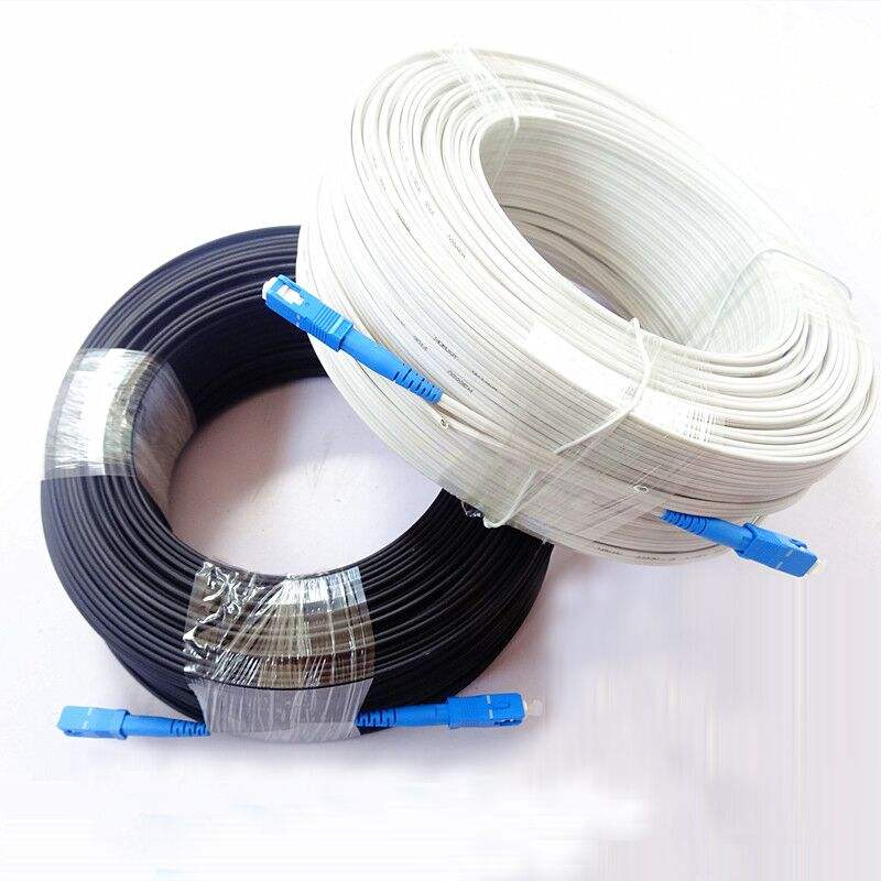 FTTH Fibra Drop Indoor Outdoor Glasfaser kabel G657A SC UPC Drop Cable Patchkabel