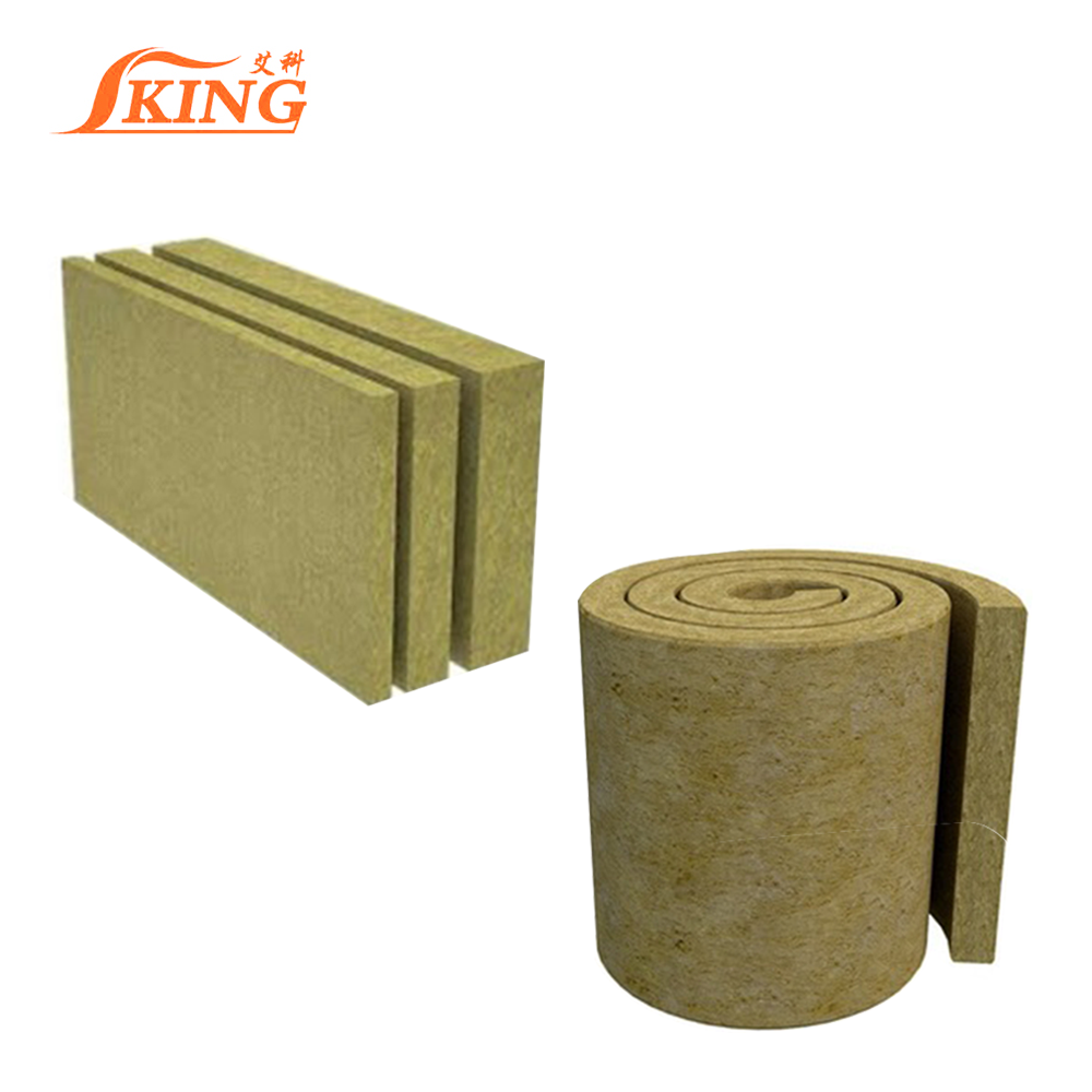 Rockwool Sheets Have Upper Layer