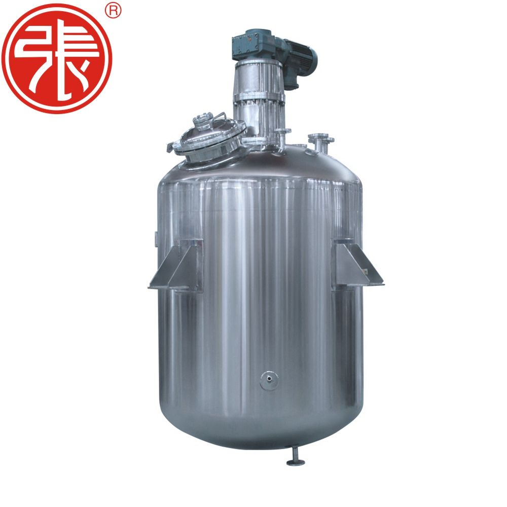 CE Approved Stainless Steel Chemical Process Vacuum Reactor 10000 Litre Reactor