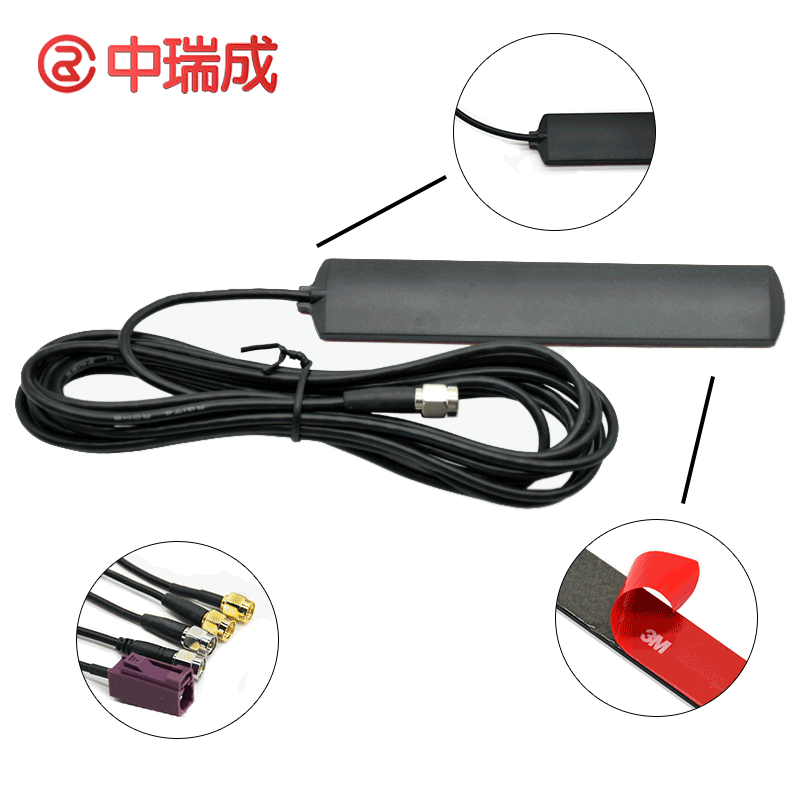 China Factory High Gain 2G 3G 4G 5G LET Signal Booster Outdoor Digital Car Radio Patch Antenna Cables