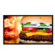 32inch wall mount digital signage advertising LCD display for restaurant coffee shop subway advertisement