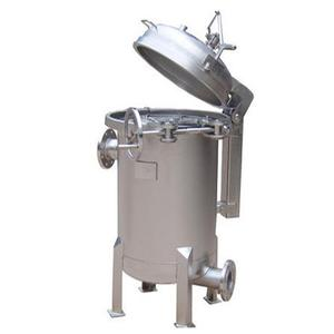 Sanitary food grade OEM Factory Jacket Insulation Filter Housing with syrup filter cartridge for honey processing machine