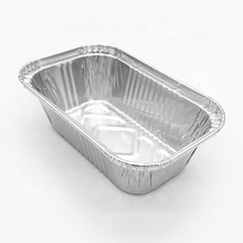 Eco friendly food packaging usage aluminum foil food container customized size aluminum foil box