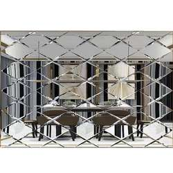 mirror tiles best 4-8mm high quality beveled mirrorbeveled edge adhesive mirror tiles