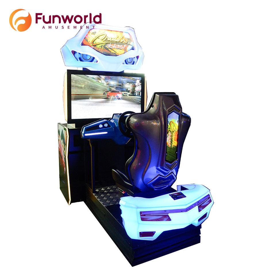 Life Long Tech-support Car Machine Simulator Driving Gaming Arcade Game Racing