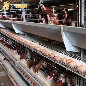 Chicken Egg Farm Equipment Layer Battery Cages Laying Hens Poultry Cage