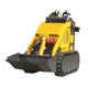 China Tacked Mini Skid Steer Loader with 800mm Width bucket
