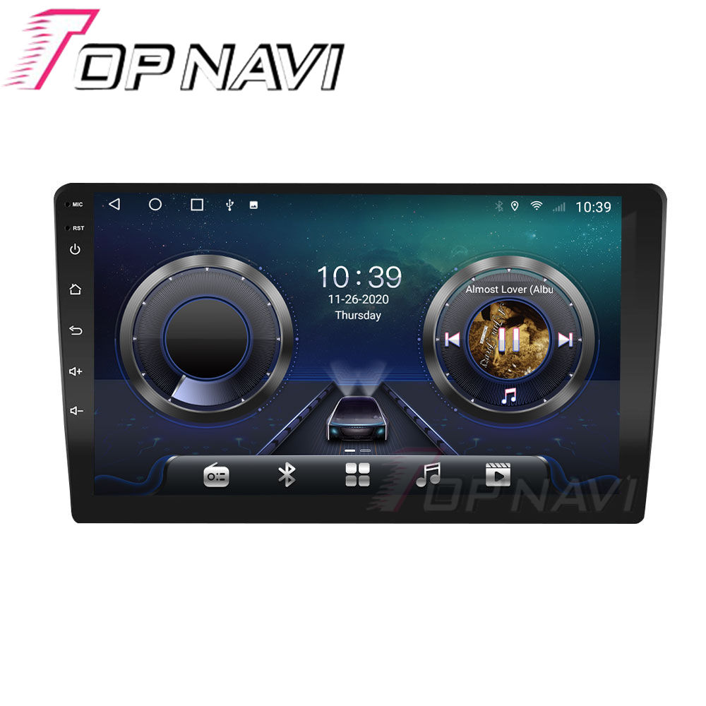 6G 128G TS10 Android 10.0 Universal Touch Screen Car Radio GPS Player For Honda Jeep Toyota Nissan Hyundai Auto Stereo GPS