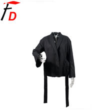 Low Moq In-Stock Fashion Design Black Casual Wedding Business Ladies Blazer Suit