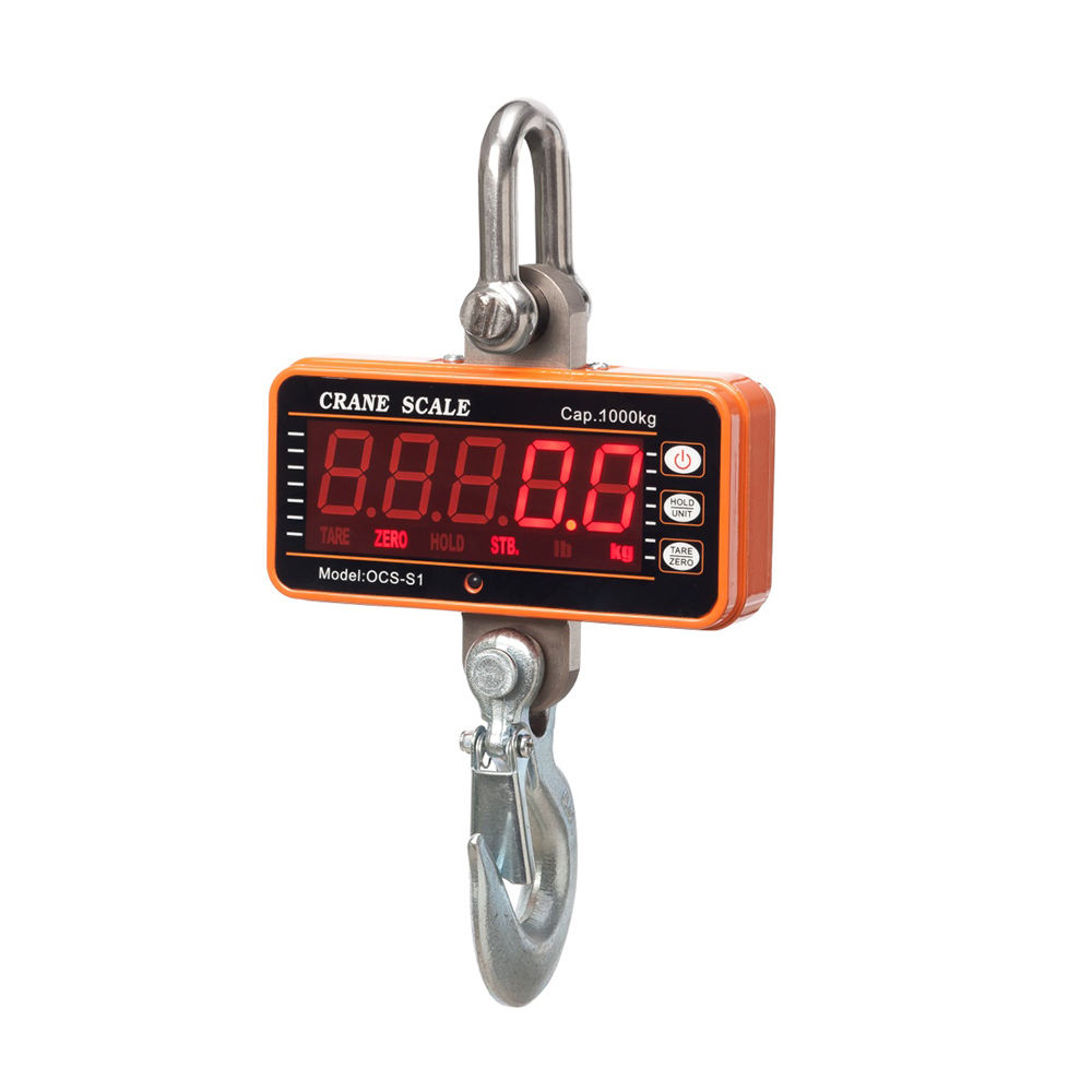 LCD Display Portable 100kg 150kg 200kg Crane Scale