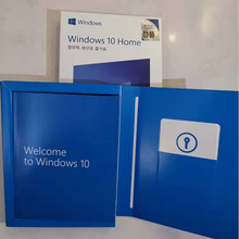 Microsoft Authorized Distributor Windows 10 Home Newest version WIN Home Fpp 10 P2 32 Bit 64 Bit Korean USB Made In Taiwan