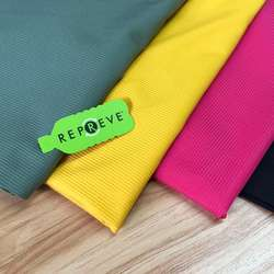 RPET recycled fabrics sample color swatch for yogawear/sport
