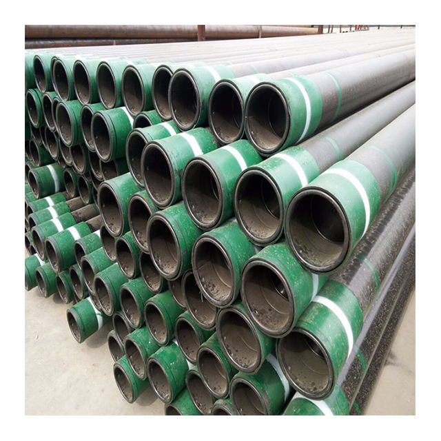 K55 J55 N80 L80 C90 P110 Oil Well Tubing Pipes API 5CT Seamless Steel Casing Pipes
