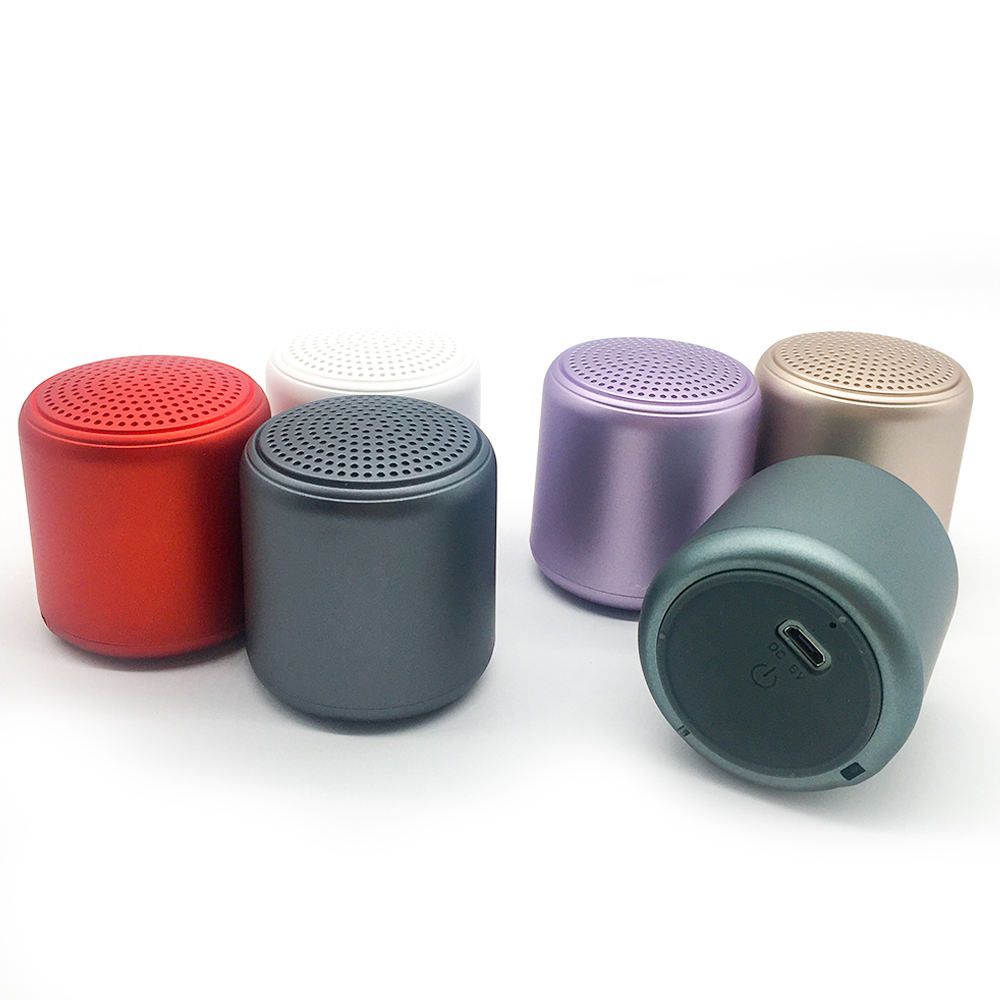 2020 Portable Speaker Wireless Inpods Little Fun Outdoor Sports Waterproof Inpods MACARON Little Fun BT Mini BT 6 color